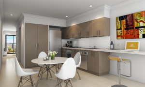 Beautiful kitchens at Paperbark Place in Mooroolbark will allow you to whip up a delicious meal